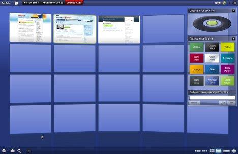 Interaktiver Modus von FoxTab